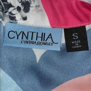 Cynthia Rowley Tops - 🌸 CYNTHIA ROWLEY BLOUSE TANK TOP MULTI COLORED!🌸